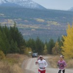 Runners in Le Grizz race - Photo by Debo Powers