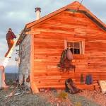 Working on the Coal Ridge Cabin