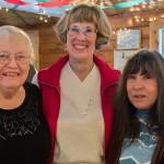 Alice Caldwell, Chris Heitz, and Becky Braunig