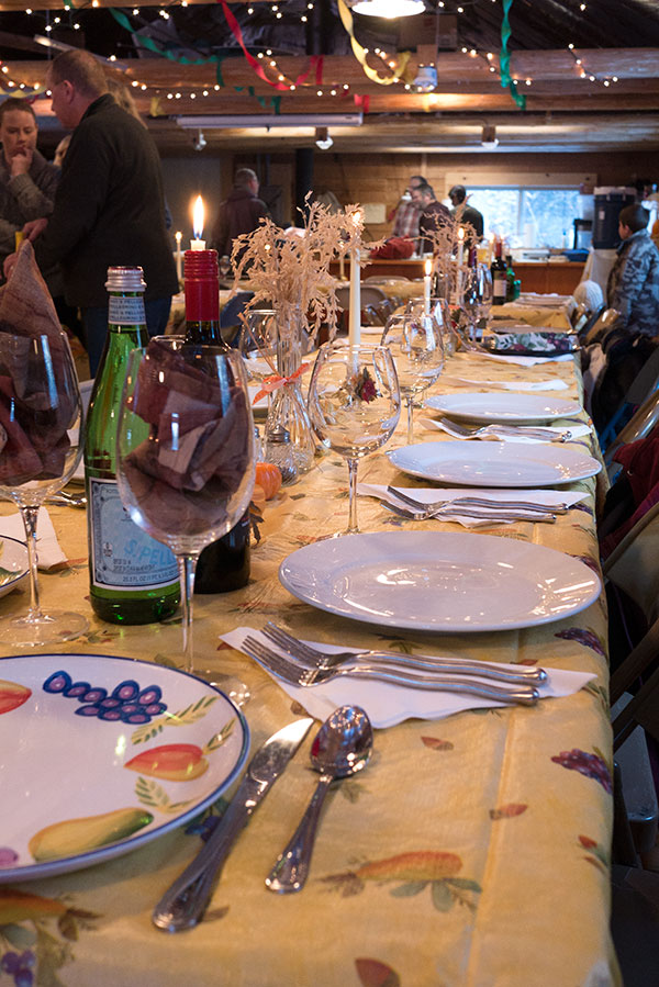 Thanksgiving at the Hall – 2015
