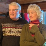 Bob and Jackie Graham were in the holiday spirit