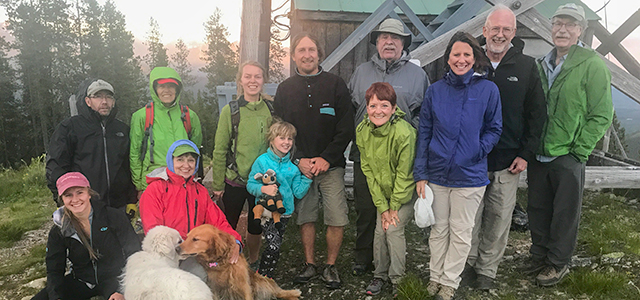 2017 Solstice Hike to Cyclone