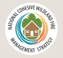 National Cohesive Wildland Fire Management Strategy Logo