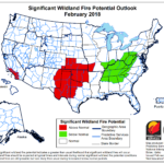 February 2018 National Significant Wildland Fire Potential Outlook