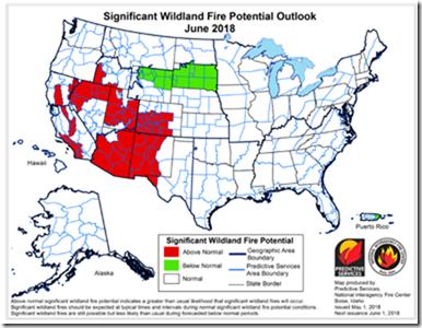 2018 Fire Outlook - June