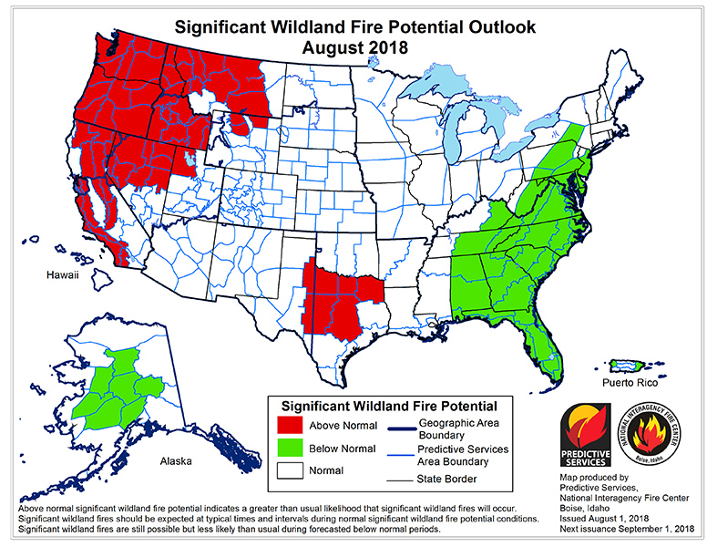 Significant-Wildland-Fire-Potential-Outlook-August-2018