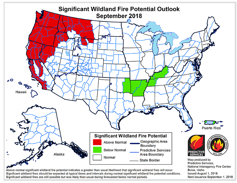 Significant-Wildland-Fire-Potential-Outlook-September-2018