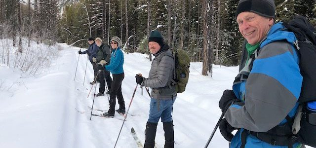 Nice Cross-Country Ski on Moose Creek