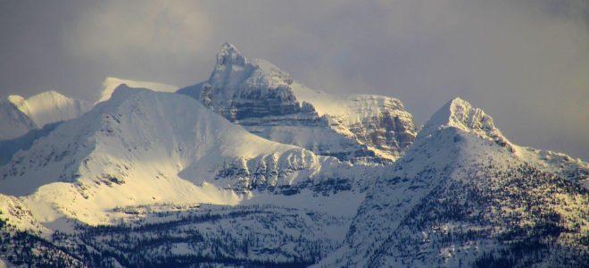 Livingston Range in Winter