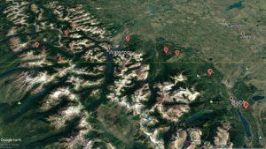 Bear Travel Map - May 28-30
