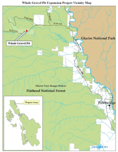Whale Gravel Pit Expansion Project Vicinity Map