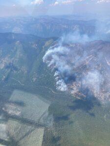 July 29, 2021 Hay Creek Fire - USFS